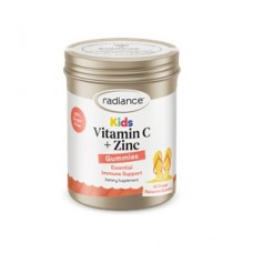 Radiance Kids Vitamin C & Zinc, 45 gummies