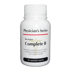 Physician's Series Bio-Active Complete B, 90 vege caps