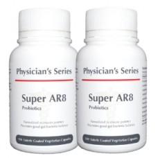 [BUNDLE] Physician's Series Super AR8 Probiotics, 100 vege caps (Expiry Mar 2020)
