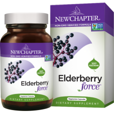 New Chapter Elderberry Force™, 30 vegetarian capsules