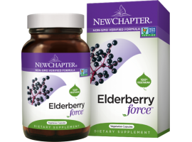New Chapter Elderberry Force™ 30 vege caps (Expiry Oct 2019)