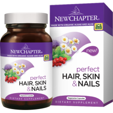 New Chapter Perfect Hair, Skin & Nails, 30 vege caps