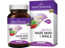 New Chapter Perfect Hair, Skin & Nails, 30 vege caps (Expiry Jul 2019)