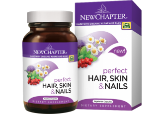 New Chapter Perfect Hair, Skin & Nails, 30 vegetarian capsules